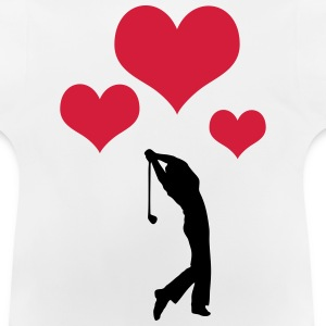 Golfer Sterne T-Shirts - Baby T-Shirt