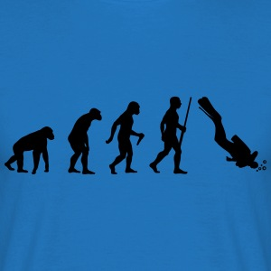 Scuba Diver Evolution - Männer T-Shirt