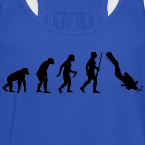 Scuba Diver Evolution - Frauen Tank Top von Bella