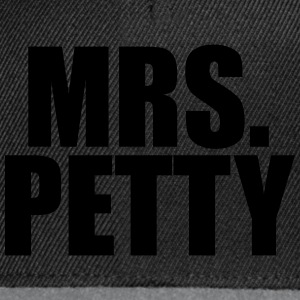 Mrs Petty T-Shirts - Snapback Cap