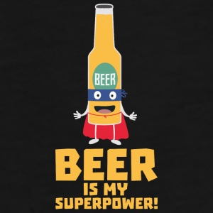 Beer is my superpower Sync7 design Mugs & Drinkware - Men's Premium T-Shirt