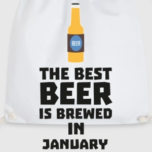 Best Beer is brewed in January Sxe8k-Design Mugs & Drinkware - Drawstring Bag