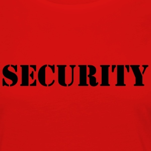 Security T-shirts - Långärmad premium-T-shirt dam