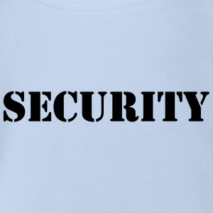 Security Tee shirts - Body bébé bio manches courtes