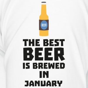 Best Beer is brewed in May S96o7-Design Krus & tilbehør - Herre premium T-shirt