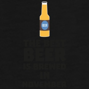Best beer is brewed in November. Sk446 design Mugs & Drinkware - Men's Premium T-Shirt