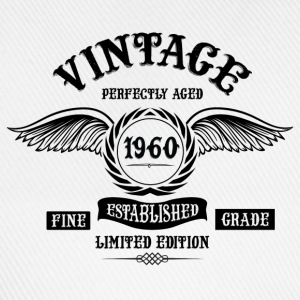 Vintage Perfectly Aged 1960 T-Shirts - Baseball Cap