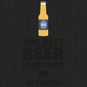 In October, best beer is brewed. S5k5z design Mugs & Drinkware - Men's Premium Longsleeve Shirt