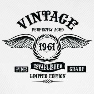 Vintage Perfectly Aged 1961 T-Shirts - Baseball Cap