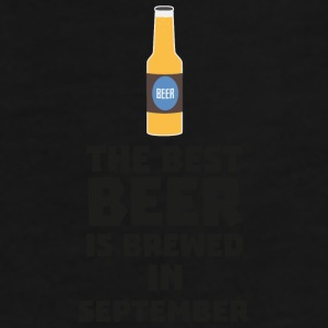 In September, S40jz design is best beer Mugs & Drinkware - Men's Premium T-Shirt