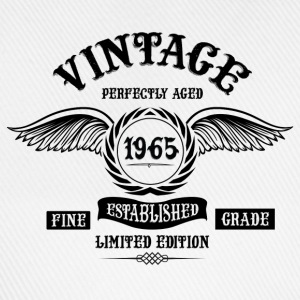Vintage Perfectly Aged 1965 T-Shirts - Baseball Cap
