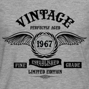 Vintage Perfectly Aged 1967 T-Shirts - Men's Premium Longsleeve Shirt