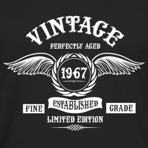 Vintage Perfectly Aged 1967 Tops - Men's Premium Longsleeve Shirt