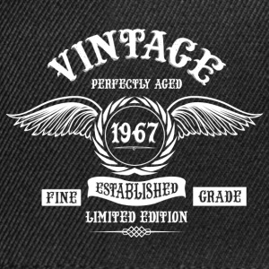 Vintage Perfectly Aged 1967 Tops - Snapback Cap