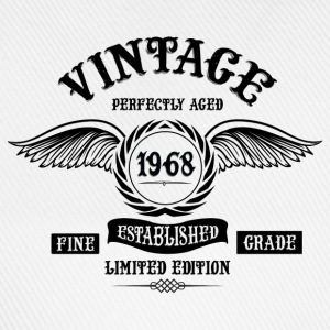 Vintage Perfectly Aged 1968 T-Shirts - Baseball Cap
