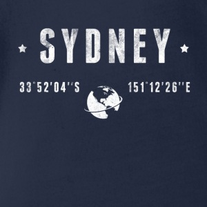 Sydney  Shirts - Organic Short-sleeved Baby Bodysuit