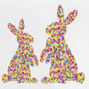 two easter bunnyies Shirts - Baby T-Shirt