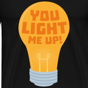 Lamp, you me lighting Syjv6 design Mugs & Drinkware - Men's Premium T-Shirt