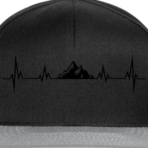 HERZSCHLAG berge T-Shirts - Snapback Cap