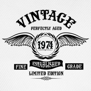 Vintage Perfectly Aged 1974 T-Shirts - Baseball Cap