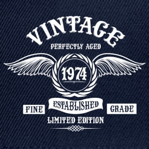 Vintage Perfectly Aged 1974 T-Shirts - Snapback Cap
