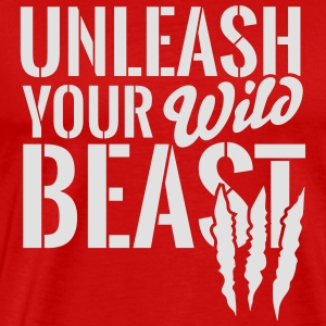 Unleash your wild Beast Langarmshirts - Männer Premium T-Shirt