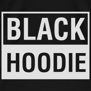 The Black Hoodie - Männer Premium T-Shirt
