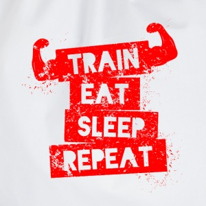 Training Eat Sleep Repeat - Turnbeutel