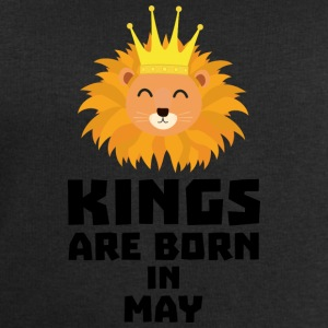 Kings are born in MAY Syy84 Shirts - Men's Sweatshirt by Stanley & Stella