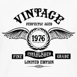 Vintage Perfectly Aged 1976 T-Shirts - Men's Premium Longsleeve Shirt