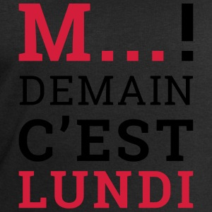 M... demain cest Lundi Tee shirts - Sweat-shirt Homme Stanley & Stella