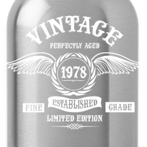 Vintage Perfectly Aged 1978 T-Shirts - Water Bottle