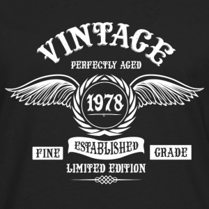 Vintage Perfectly Aged 1978 T-Shirts - Men's Premium Longsleeve Shirt