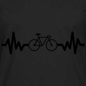 Bike is life, cycling t-shirt - Men's Premium Longsleeve Shirt