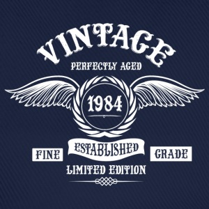 Vintage Perfectly Aged 1984 T-Shirts - Baseball Cap