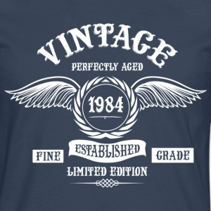 Vintage Perfectly Aged 1984 T-Shirts - Men's Premium Longsleeve Shirt