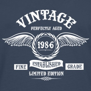 Vintage Perfectly Aged 1986 T-Shirts - Men's Premium Longsleeve Shirt