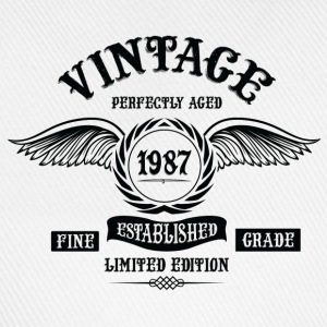 Vintage Perfectly Aged 1987 T-Shirts - Baseball Cap