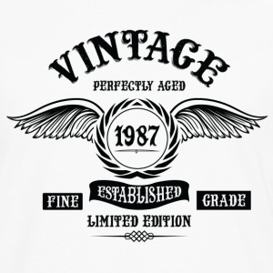 Vintage Perfectly Aged 1987 T-Shirts - Men's Premium Longsleeve Shirt