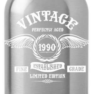 Vintage Perfectly Aged 1990 T-Shirts - Water Bottle