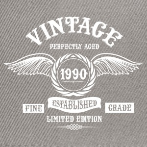 Vintage Perfectly Aged 1990 T-Shirts - Snapback Cap