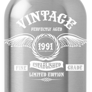 Vintage Perfectly Aged 1991 T-Shirts - Water Bottle