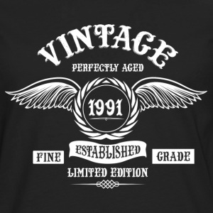 Vintage Perfectly Aged 1991 T-Shirts - Men's Premium Longsleeve Shirt