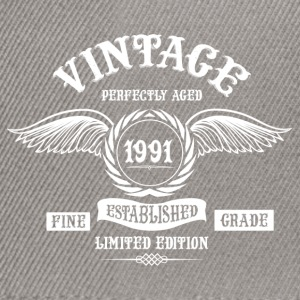 Vintage Perfectly Aged 1991 T-Shirts - Snapback Cap