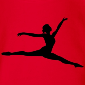 Ballett Dancer - Baby Bio-Kurzarm-Body