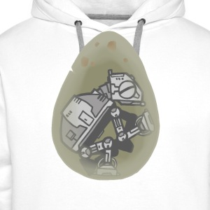 At egg - Sweat-shirt à capuche Premium pour hommes