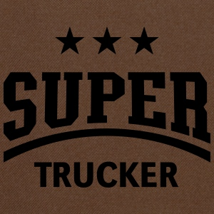 Super Trucker (Truck Driver / Truckman) T-Shirts - Shoulder Bag