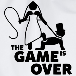 game is over Junggesellenabschied T-Shirts - Turnbeutel