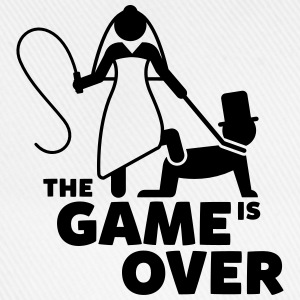 game is over Junggesellenabschied T-Shirts - Baseballkappe