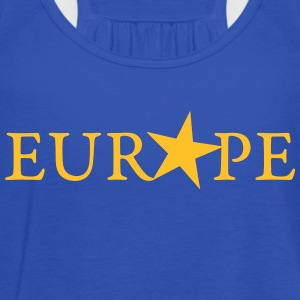 EUROPE, EU STERN, STAR, PULSE EUROPA,  T-Shirts - Frauen Tank Top von Bella